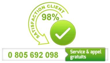 98% de clients satisfaits