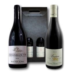 Coffret Cadeau Bourgogne 1er cru Bio