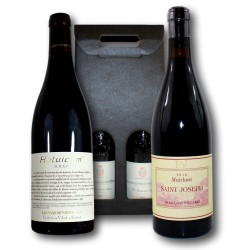 Coffret Cadeau Vallée du Rhône - Syrah - Saint-Joseph et Heluicum