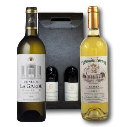 Coffret cadeaux Bordeaux Blanc - Graves & Pessac-Leognan