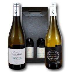coffret cadeau Montlouis et Touraine blanc - Val de Loire