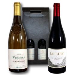"""Coffret cadeau Vins """"Pépites d'Ardèche"""""""