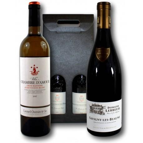 Coffret Cadeau Savigny-lès-Beaune & Villa Chambre d'Amour