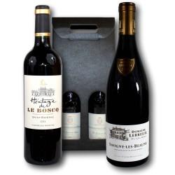 Coffret Cadeau Savigny-lès-Beaune & Saint-Estèphe