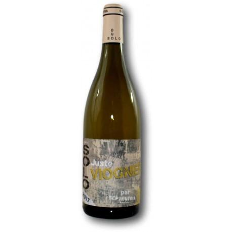 """Côtes-du-Rhône Blanc SOLO """"Juste VIOGNIER"""" - SEPTENTRIA"""