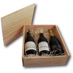 Coffret Cadeau Côte-Rôtie / Condrieu / Champagne