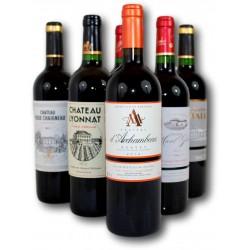 Coffret Bordeaux : Grandes Appellations & Super rapport qualité/prix