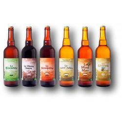 Carton découverte des Bières de la brasserie du Pilat