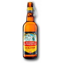 Bière Blonde de la Brasserie du Mont Blanc