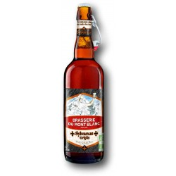 Sylvanus TRIPLE Beer from the Brasserie du Mont Blanc