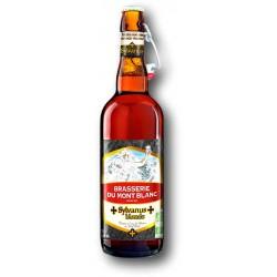 Bière Sylvanus blonde de la Brasserie du Mont Blanc