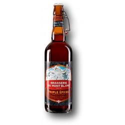 Bière TRIPLES ÉPICES de la Brasserie du Mont Blanc