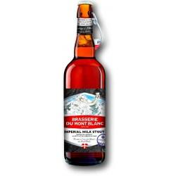 Bière IMPERIAL STOUT MILK du Mont Blanc