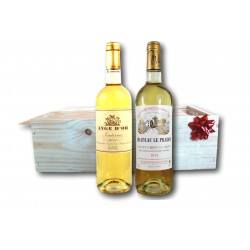 coffret cadeau Sauterrnes et Sainte-croix-du-mont - Liquoreux