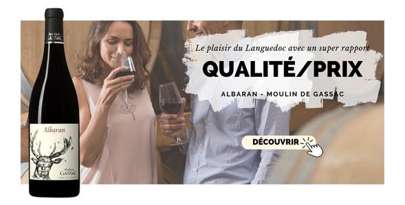 Albaran, vin rouge du domaine GASSAC