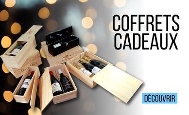 Les Coffrets cadeaux vin