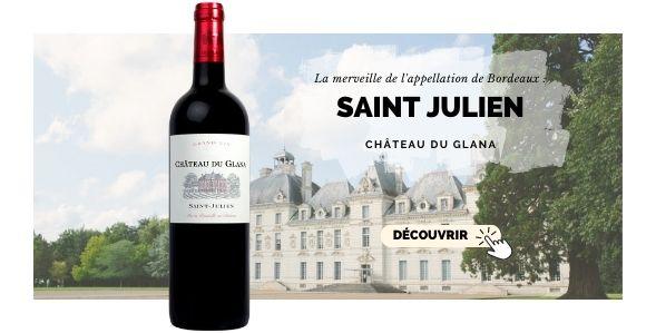 Le Saint-Julien du Château Glana à Bordeaux