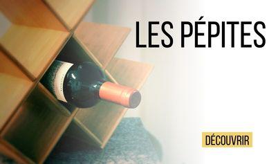 Les vins Pépites de la cave VINSOLITE