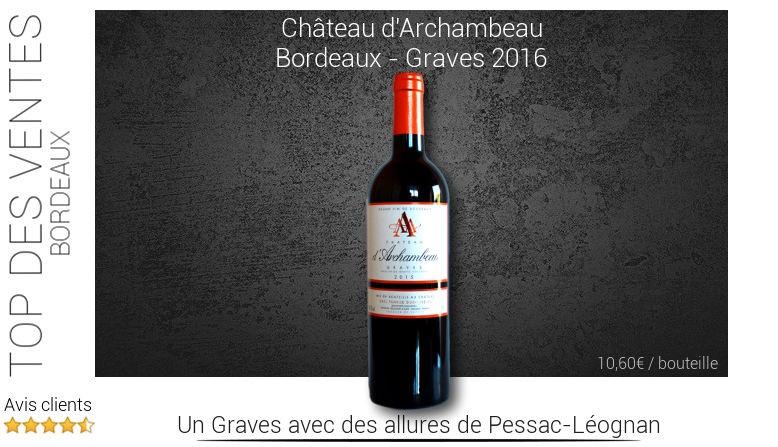 Château d'Archambeau - Bordeaux Graves
