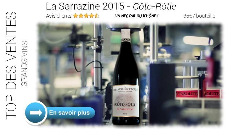 Côte-Rôtie LA SARRASINE - Domaine Bonserine