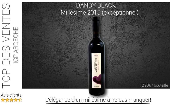 DANDY BLACK - Domaine Les Amoureuses