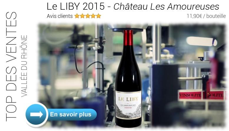 Top des ventes : Le Liby 2015