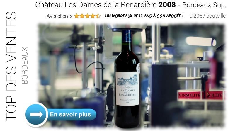 Château Les Dames de la Renardière 2008