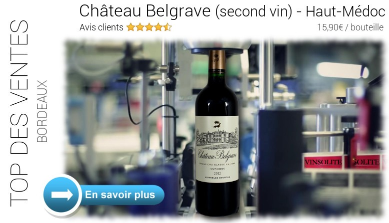 Château Belgrave - Second vin - Haut-Médoc