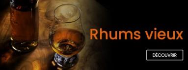Notre sélection de VIEUX RHUMS
